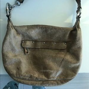 Marc Jacobs vintage tan leather bag
